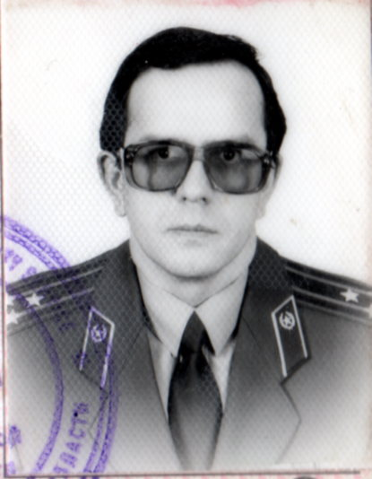 KGB Colonel Valery Velichko (now the President of the Club of State Security Veterans)